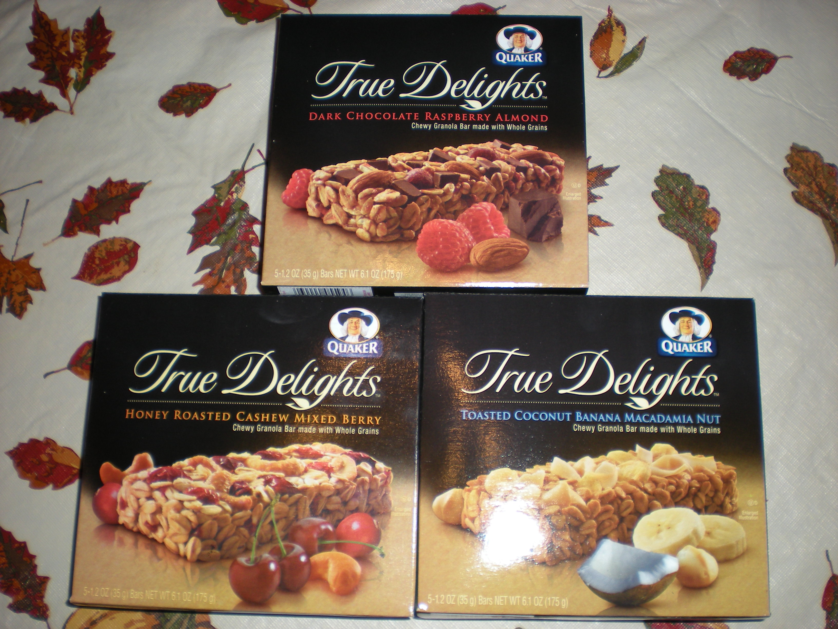 foodies 515 Quaker True Delights Review