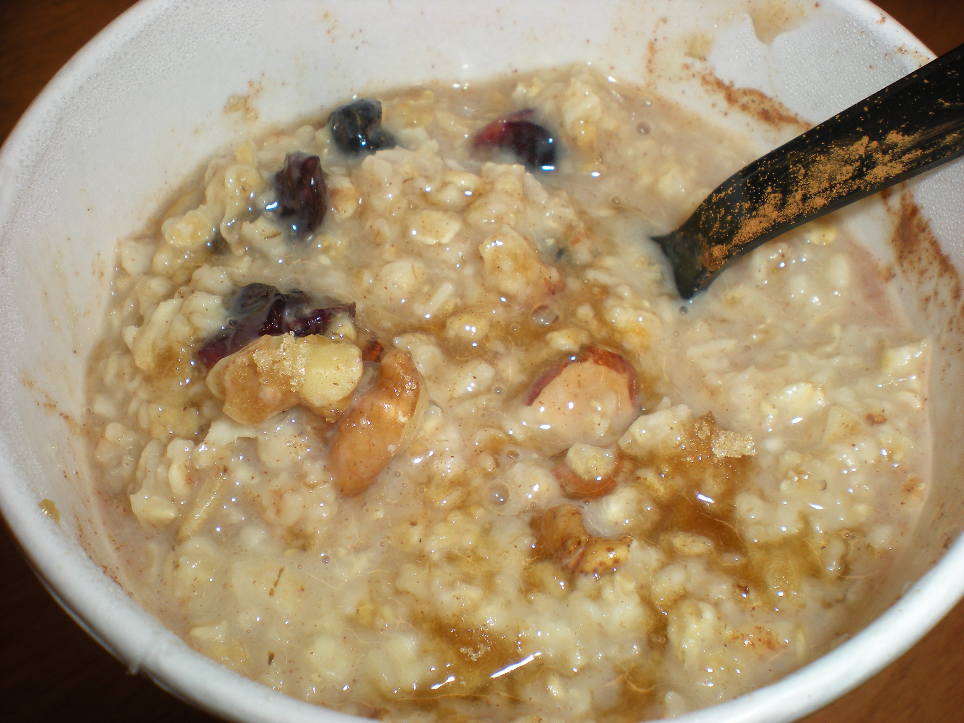 foodies 744 Starbucks Oatmeal Review