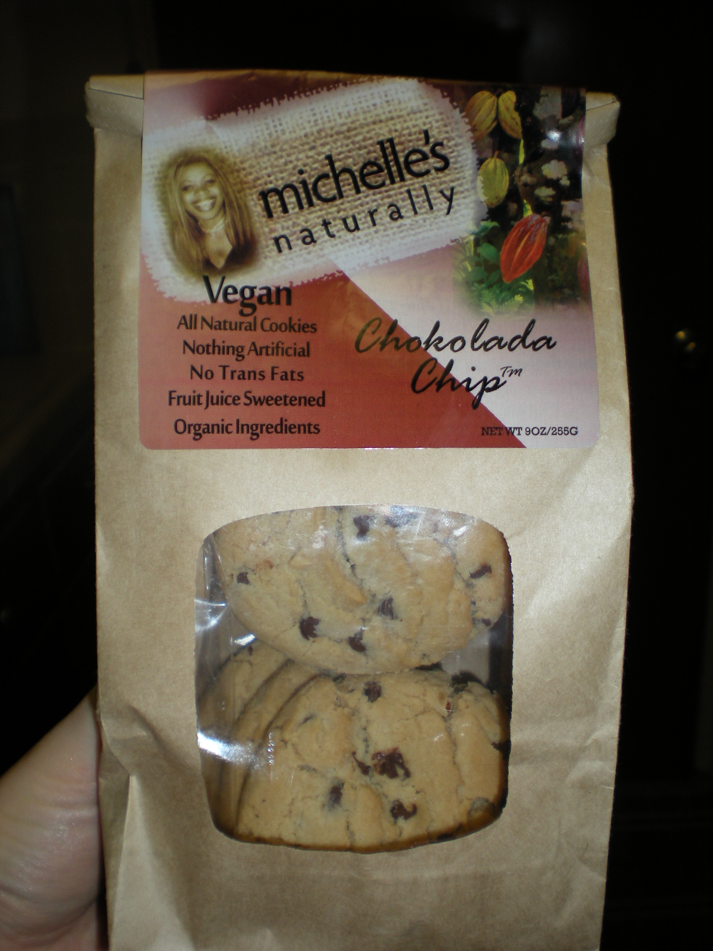 foodies 867 Michelle's Naturally Vegan Choc Chip